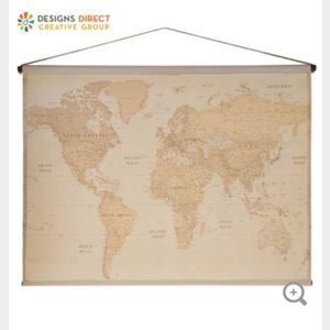 Other - Vintage Map Tapestry Wall Decor from Hobby Lobby